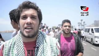 مظاهرات لـ«طلاب الثانوية» أمام كورنيش الإسكندرية للمطالبة بإقالة وزير التعليم