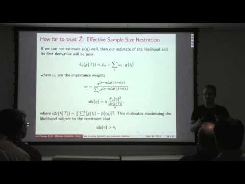 Ian Fellows - How to solve (almost) any problem using Markov Chain Monte Carlo