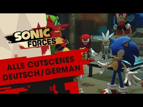 Sonic Forces - Alle Cutscenes (Deutsch / German) + Credits