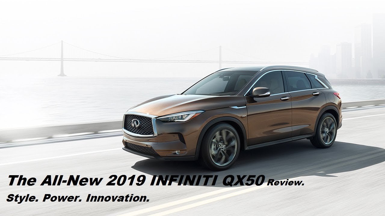 The All New 2019 Infiniti Qx50 Review Style Innovation