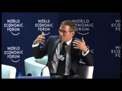 CEO Renat Heuberger at WEF Panama 2014 discussing climate change