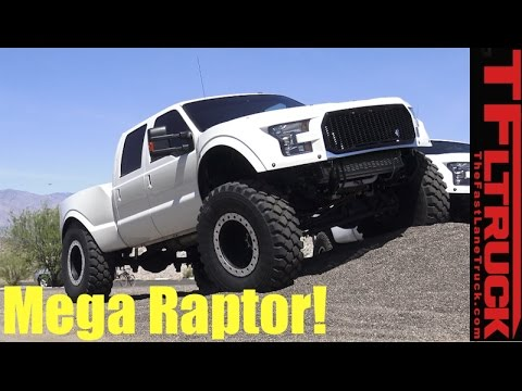 Ford F-250 Diesel Super Duty Mega Raptor: When Half-Ton Raptor Just Won't Do!