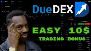DueDEX Exchange Review. How trade BTC with LEVERAGE