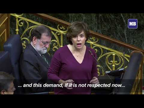 Spain threatens to suspend Catalan autonomy as deadline looms