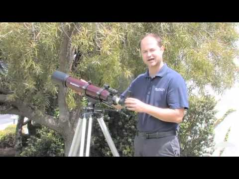 Orion StarBlast 90mm Altazimuth Travel Refractor Telescope - Orion Telescopes