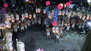 平成27年 魚吹八幡神社 秋季例祭 宵宮 興浜 提灯練り1