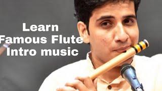 Learn flute intro piece