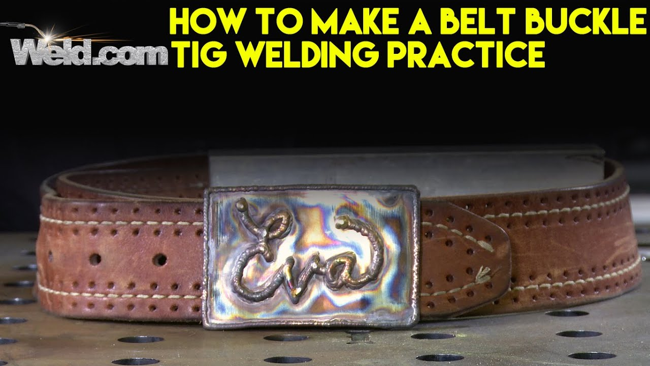 Welding A Stainless Steel Belt Buckle Tig Welding