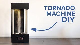 Make a Tornado Machine from a Science museum - DIY