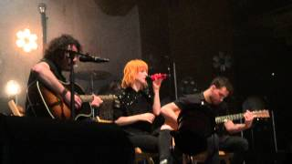 Paramore - The Only Exception - Abraham Chavez Theatre, El Paso, TX. May 20, 2015.