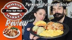 Boston Market   Parmesan Rotisserie Chicken Food Review