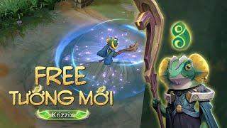 FREE TƯỚNG MỚI | Krizzix - Tàng Hình Nguyên Team - Garena Liên Quân Mobile