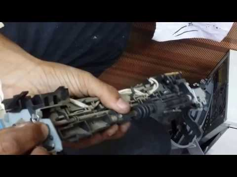 How to repair canon lbp 2900 paper jam problem : teflon sheet and pressure roller