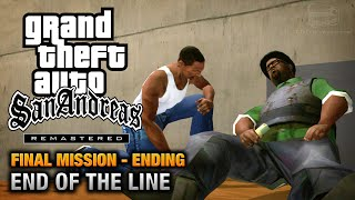 GTA San Andreas Remastered - Ending / Final Mission - End Of The Line (Xbox 360)