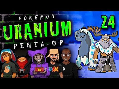 "Pokémon Uranium 5-Player Nuzlocke - Ep 24 ""THE POWER OF MEGA EVOLUTION!!"""