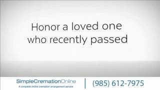 Cremation Services Kenner, LA - Call us at: (985) 612-7975