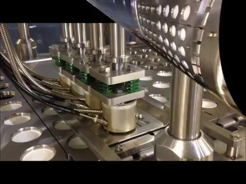 Made In USA, Automatic K-cup Capsule Filling And Sealing Machine, High Speed Packaging Machines