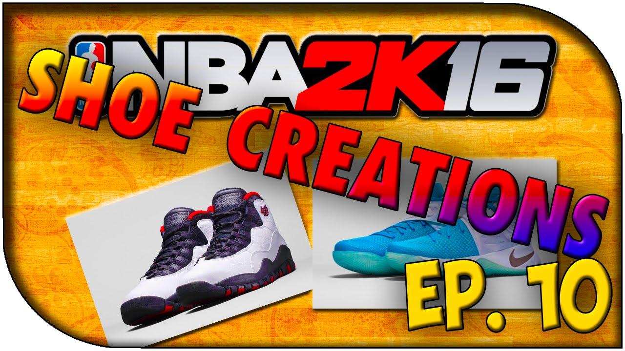 6618e47a7e47f6 NBA 2K16 Shoe Creations - EP. 10 - Fire Red 3s