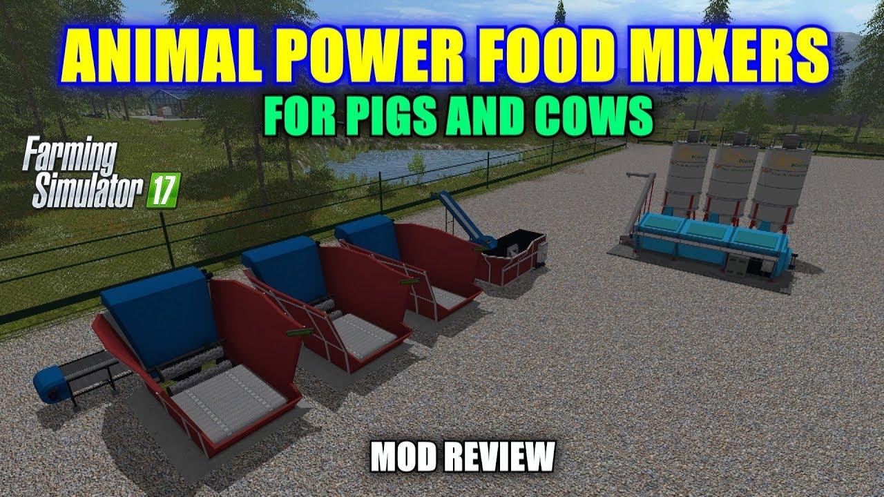 "Farming Simulator 17 - Animal Power Food Mixers ""Mod ..."