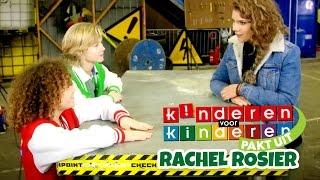 Kinderen voor Kinderen pakt uit met Rachel Rosier