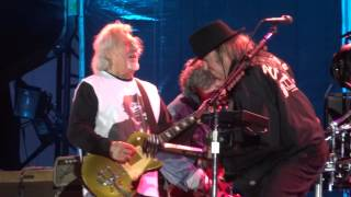 Neil Young & Crazy Horse - Hey Hey, My My (Into the Black) Live at RDS Dublin Ireland 2013