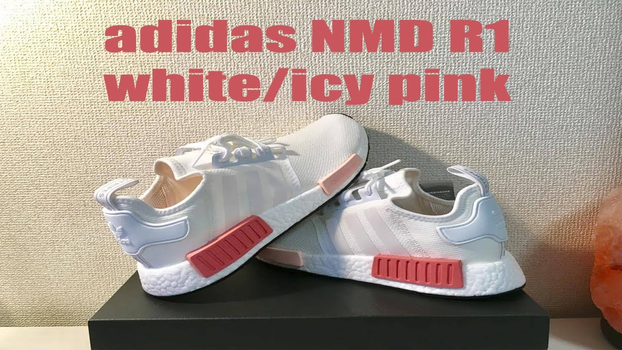 43a754762 ADIDAS NMD R1 ICY PINK - YouTube