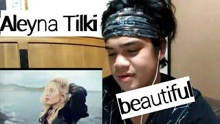 REACTION | TURKISH SINGER ALEYNA TILKI YALNIZ CICEK FEAT EMRAH KARADUMAN Video