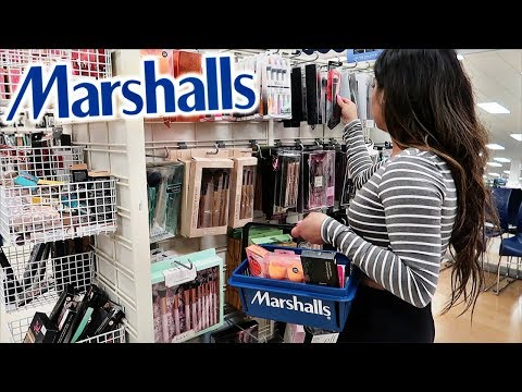 Come Shopping With Me At MARSHALLS For MAKEUP DEALS!