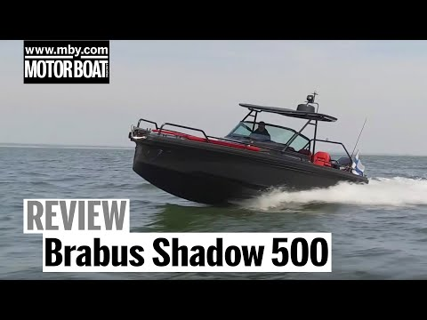 Brabus Shadow 500 Black Ops Edition   Test drive and review   Motor Boat & Yachting