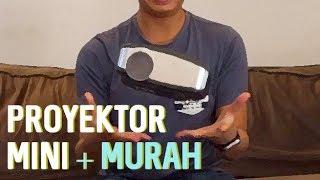 Nyobain Mini LED Projector + Pengumuman GIVEAWAY! - Nerdvlog #3