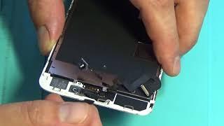 видео Замена дисплейного модуля на iPhone 8