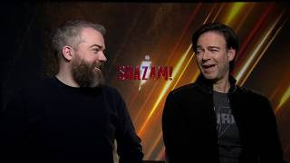 SHAZAM! Movie Interview With David F. Sandberg & Peter Safran By DC World