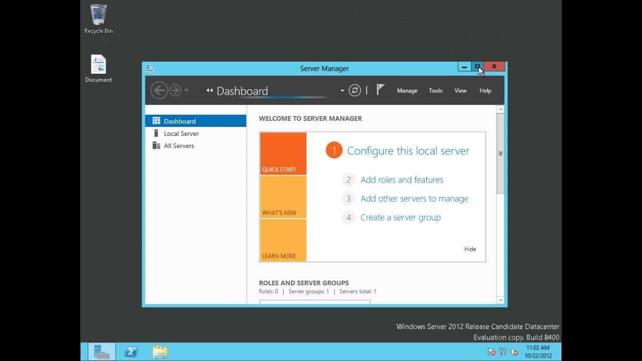 Windows Server 2012 Remote Desktop Services (RDS) Publish a RemoteApp