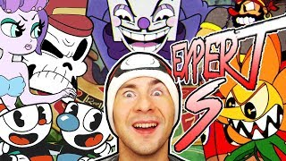 Cuphead S RANKS EXPERT MODE / ALL BOSSES COMPLETE
