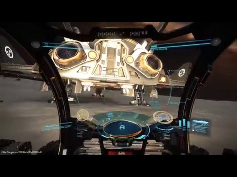 Elite Dangerous Horizons - Planetary Search and Rescue Mission  