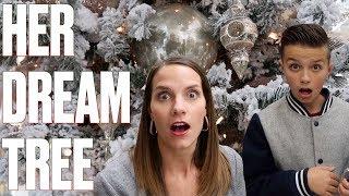 DREAM CHRISTMAS TREE SHOPPING | SHOPPING FOR CHRISTMAS DECORATIONS | CHRISTMAS DECOR HAUL