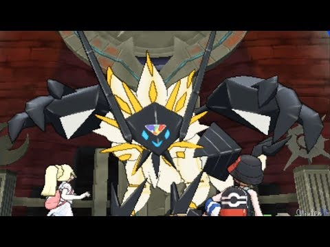 Pokemon Ultra Sun and Moon - Necrozma + Solgaleo Battle