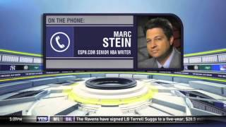 Marc Stein joins The Michael Kay Show