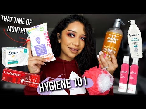 SHOP WITH ME AT WALMART FOR HYGIENE PRODUCTS 2019 | TIPS ON KEEPING FRESH! (girl talk)