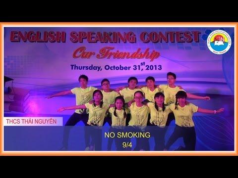 English Speaking Contest   2nd   NO SMOKING 9 4