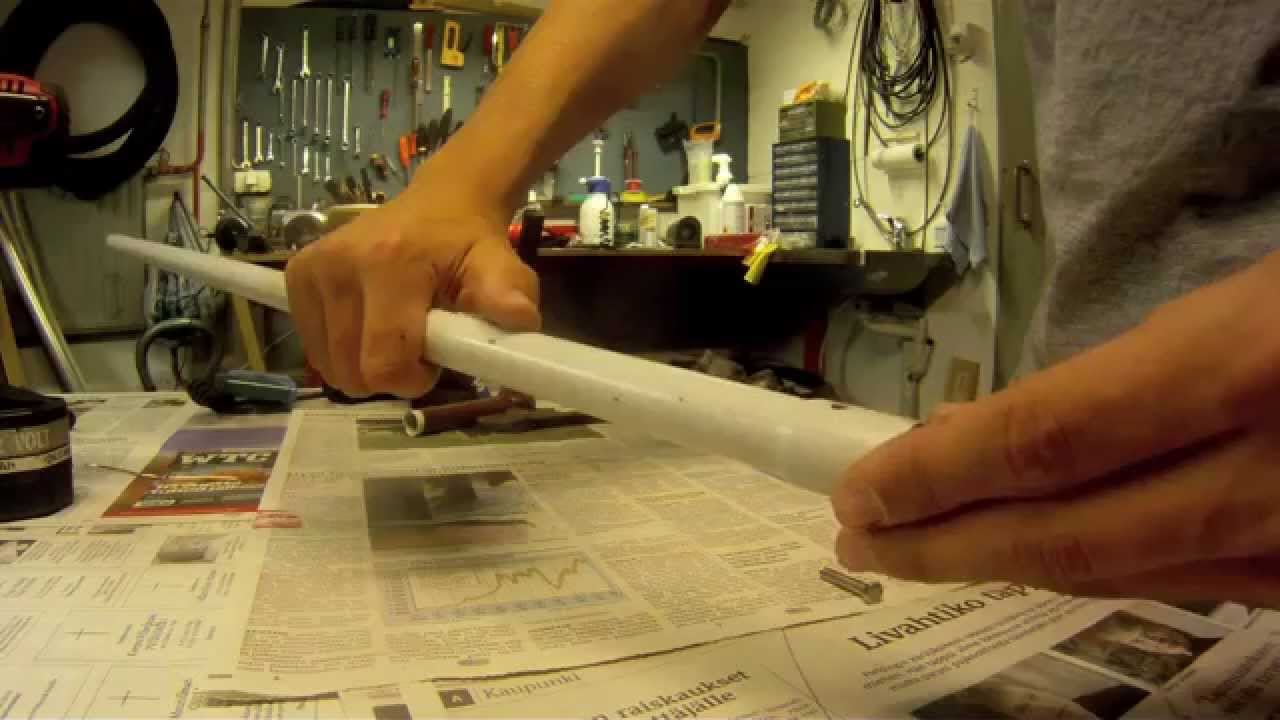 & DIY: How to make a telescopic pole mount for gopro - YouTube
