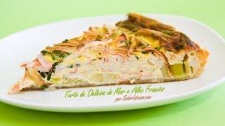 Miniatura de Video Receita De Tarte De Delicias Do Mar E Alho Francês 02:24 Receitas BR