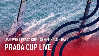 Full Race Replay | Semi-Finals Day 1 | PRADA Cup LIVE