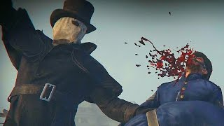Assassin's Creed Syndicate Jack The Ripper PC Gameplay - Brutal Killing Takedowns
