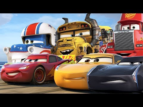 Cars 3 Full Movie Game English Lightning McQueen Mack Truck Jackson Storm Cruz Ramirez Tow Mater