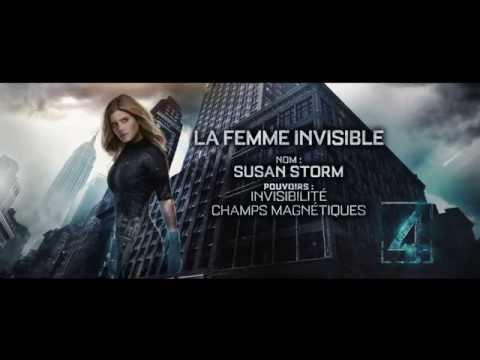Les Quatre Fantastiques - La Femme invisible