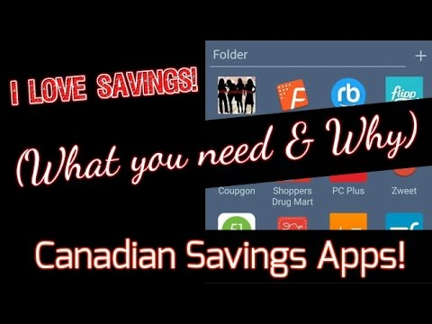 Canadian Savings Apps ~ What You NEED & Why! Get FREEBIES by Using Them!