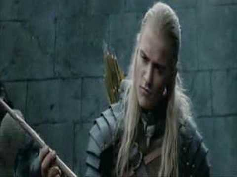 Legolas and Gimli-Deleted Scene
