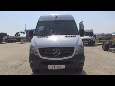 Mercedes-Benz Sprinter 519 CDI KA ExtraLong Model Bus 906 RWD (2018) Exterior And Interior