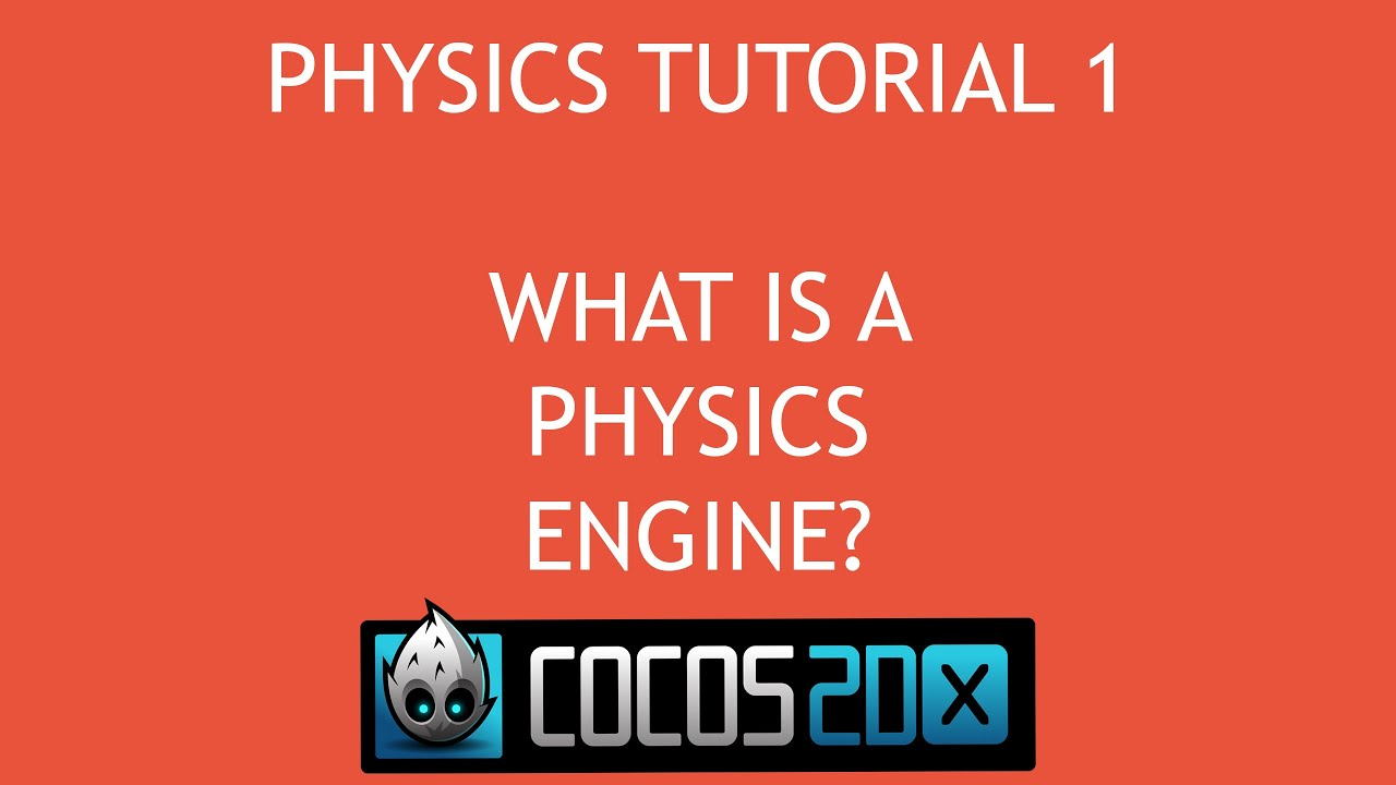 Cocos2d x C++ Physics Tutorial Series